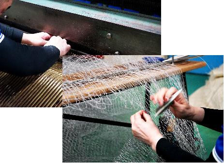 漁網が育んだ職人の技術