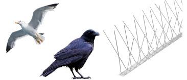 大型鳥類対応のワイドタイプ