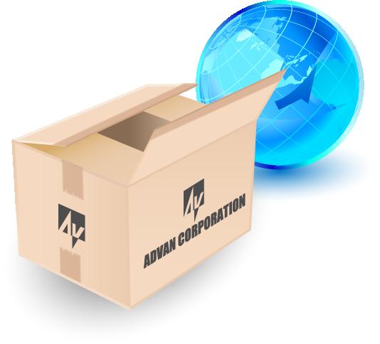 業界唯一の法人向けサービス。1個からのスピード出荷に対応技術サポートも万全!