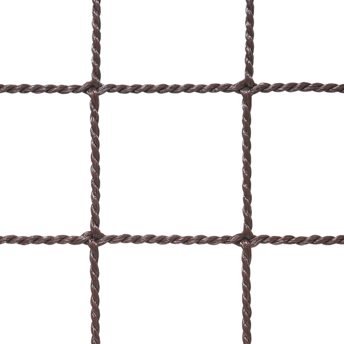 〈ヨリ線ネット37.5〉目合い:37.5mm カラー:ブラウン