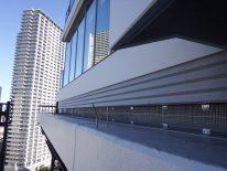都内再開発新築ビル/工事