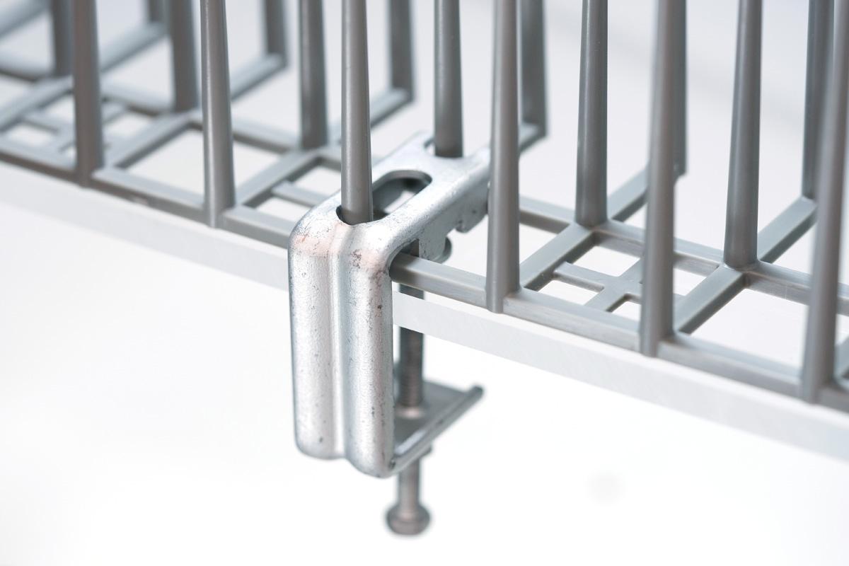 ハトプロテクター専用クランプ 取付イメージ