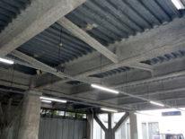 クレア市営駐車場/工事